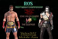 Ros Heavyweight championship Please moderate my wish