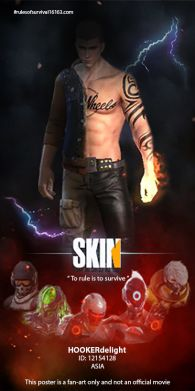 SKIN  the movie poster