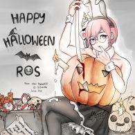 Happy Halloween! with bunny girl from NoheH2O to everyone