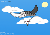 """Day and Night Parachute"""