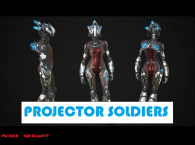 PROJECTOR SOLDIERS