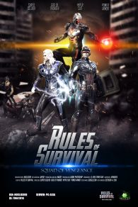 Rules of Survival Movie Poster Entry: Squad of Vengeance