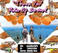 Rules Of Survival Thanksgiving!!!