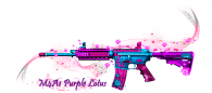 M4A1 PURPLE LOTUS