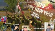 Happy new year Rules of survival and to my squad