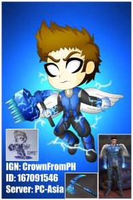 God Of Thunder Chibi!