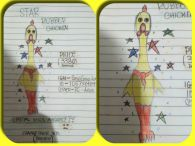 Star Rubber chicken !!! Art work