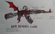Da Artists Battlefield Entry (AKM Demonic Curse)