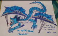 The Glacial blizzard(car skin) and the abyssal dragon(parachute skin)