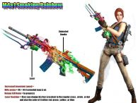 2nd Entry Smoking Rainbow M4a1