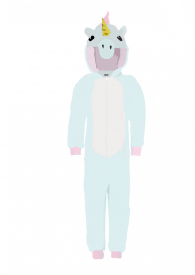 I did my best for this unicorn onesie