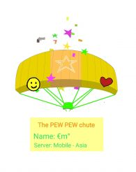 the PEW PEW chute