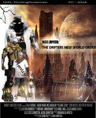 "ROS POSTER ""MAXX JUPITER : THE DRIFTERS NEW WORLD ORDER"""