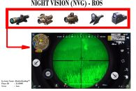 NIGHTVISION SCOPE (NIGHT MODE - ROS)