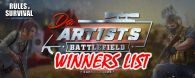 Da Artists Battlefield Winners!