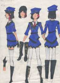 Military outfit (female only)