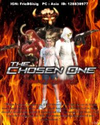 ROS MOVIE POSTERTHE CHOSEN ONE COOMING SOON
