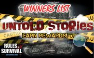 "Winners of ""Untold Stories"" Contest!"