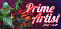 【Super Contest!】Prime Artist! -Update!