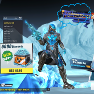 DAKS WANTS TO COMPLETE THE ICE DRAKE SET
