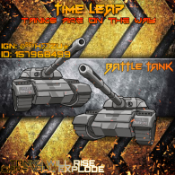 "TIME LEAP ""BATTLE TANK"""