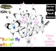 """The ButteFly Effect"""