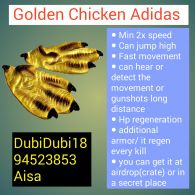 The Golden Chicken Adidas!!