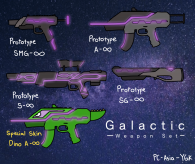 Galactic Weapon Set