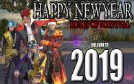 HAPPY NEWYEAR RULES OF SURVIVAL MORE POWER AND MORE YEAR TO COME